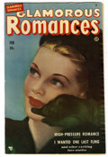 "Golden Age (1938-1955):Romance, Glamorous Romances #50 Davis Crippen (""D"" Copy) pedigree (Ace,1951) Condition: VF+. Painted cover. Overstreet 2006 VF 8.0 v..."