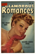 "Golden Age (1938-1955):Romance, Glamorous Romances #57 Davis Crippen (""D"" Copy) pedigree (Ace,1952) Condition: VF. Painted cover. Overstreet 2006 VF 8.0 va..."