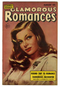 "Golden Age (1938-1955):Romance, Glamorous Romances #63 Davis Crippen (""D"" Copy) pedigree (Ace,1952) Condition: FN. Painted cover. Overstreet 2006 FN 6.0 va..."