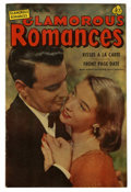 "Golden Age (1938-1955):Romance, Glamorous Romances #66 Davis Crippen (""D"" Copy) pedigree (Ace,1952) Condition: VF. Photo cover. Overstreet 2006 VF 8.0 valu..."