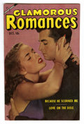 "Golden Age (1938-1955):Romance, Glamorous Romances #71 Davis Crippen (""D"" Copy) pedigree (Ace,1953) Condition: VF+. Photo cover. Overstreet 2006 VF 8.0 val..."