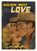 """Golden Age (1938-1955):Romance, Golden West Love #1 Davis Crippen (""""D"""" Copy) pedigree (KirbyPublishing, 1949) Condition: FN/VF. Painted cover. Art by Bob P..."""