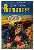 "Golden Age (1938-1955):Romance, Great Lover Romances #12 Davis Crippen (""D"" Copy) pedigree (TobyPublishing, 1953) Condition: FN/VF. Overstreet 2006 FN 6.0 ..."