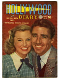 "Golden Age (1938-1955):Romance, Hollywood Diary #5 Davis Crippen (""D"" Copy) pedigree (Quality,1950) Condition: VG/FN. June Allyson and Peter Lawford photo ..."