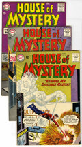 Silver Age (1956-1969):Horror, House of Mystery Group (DC, 1963-64) Condition: Average VF-.Includes #132, 134, 135, and 144 (Manhunter from Mars story). A...(Total: 4 Comic Books)