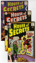 Silver Age (1956-1969):Mystery, House of Secrets Group (DC, 1962-64) Condition: Average VF.Includes #56, 57, 59, and 65 (Eclipso story with Alex Toth art)....(Total: 4)