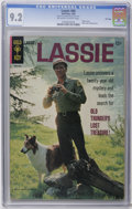 Silver Age (1956-1969):Adventure, Lassie File Copies #66-69 CGC Group (Gold Key, 1966-67). Loyal Lassie fans will want this high-grade group. All have photo c... (Total: 4 Comic Books)