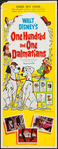 "Movie Posters:Animation, 101 Dalmatians (Buena Vista, 1961). Insert (14"" X 36""). Animation....."