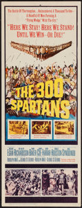 "Movie Posters:Action, The 300 Spartans (20th Century Fox, 1962). Insert (14"" X 36"").Action.. ..."