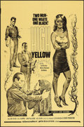 "Movie Posters:Exploitation, High Yellow (Thunder Pictures, 1965). One Sheet (27"" X 41"").Exploitation.. ..."