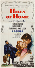 "Movie Posters:Adventure, Hills of Home (MGM, 1948). Three Sheet (41"" X 79""). Adventure.. ..."