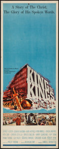 "Movie Posters:Historical Drama, King of Kings (MGM, 1961). Insert (14"" X 36"") Style B. HistoricalDrama.. ..."