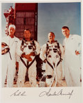 Autographs:Celebrities, Gemini 5 Crew-Signed Color Photo....