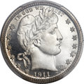Proof Barber Quarters, 1911 25C PR67 Deep Cameo PCGS....