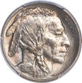 Buffalo Nickels, 1923-S 5C MS65 PCGS. CAC....