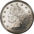 Liberty Nickels, 1886 5C MS64+ PCGS. CAC....