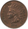 Indian Cents, 1873 1C Doubled LIBERTY, Closed 3 AU53 PCGS. Snow-1, FS-101....