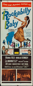 """Movie Posters:Rock and Roll, Rockabilly Baby (20th Century Fox, 1957). Insert (14"""" X 36""""). Rockand Roll.. ..."""