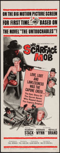 """Movie Posters:Crime, The Scarface Mob (Desilu, 1962). Insert (14"""" X 36""""). Crime.. ..."""