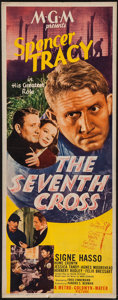 "Movie Posters:Drama, The Seventh Cross (MGM, 1944). Insert (14"" X 36""). Drama.. ..."