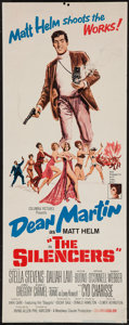 """Movie Posters:Action, The Silencers (Columbia, 1966). Insert (14"""" X 36""""). Action.. ..."""