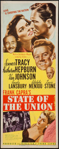 "Movie Posters:Drama, State of the Union (MGM, 1948). Insert (14"" X 36""). Drama.. ..."