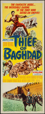 "Thief of Baghdad (MGM, 1961). Insert (14"" X 36""). Fantasy"