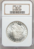 Morgan Dollars: , 1885-O $1 MS65 NGC. NGC Census: (26093/4866). PCGS Population(17485/2414). Mintage: 9,185,000. Numismedia Wsl. Price for p...