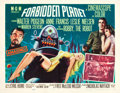 "Movie Posters:Science Fiction, Forbidden Planet (MGM, 1956). Half Sheet (22"" X 28"") Style A.. ..."