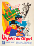 "Movie Posters:Comedy, At the Circus (MGM, 1939). French Grande (47"" X 63"").. ..."
