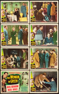 "Movie Posters:Mystery, The Woman in Green (Universal, 1945). Lobby Card Set of 8 (11"" X 14"").. ... (Total: 8 Items)"