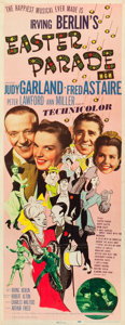 "Movie Posters:Musical, Easter Parade (MGM, 1948). Insert (14"" X 36"").. ..."