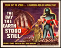 "Movie Posters:Science Fiction, The Day the Earth Stood Still (20th Century Fox, 1951). Title LobbyCard (11"" X 14"").. ..."