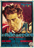 "Movie Posters:Drama, East of Eden (Warner Brothers, 1955). Italian 4 - Foglio (55"" X78"").. ..."