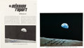 Autographs:Celebrities, Apollo 8: Two Items Signed by Frank Borman.... (Total: 2 Items)