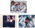 Autographs:Celebrities, Apollo 7: Individual Signed Photos of the Crew. ... (Total: 4Items)