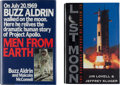 Explorers:Space Exploration, Apollo Astronauts: Two Signed Books.... (Total: 2 Items)