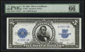 Large Size:Silver Certificates, Fr. 282 $5 1923 Silver Certificate PMG Gem Uncirculated 66 EPQ.....