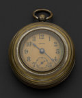Timepieces:Pocket (pre 1900) , E.N. Welch 36 Size Back Wind Back Set, circa 1893. ...