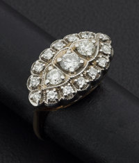 Diamond Gold & Platinum Ring