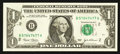 Error Notes:Obstruction Errors, Fr. 1928-B $1 2003 Federal Reserve Note. Extremely Fine.. ...