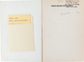 Autographs:Inventors, Francis H. C. Crick Copy of Minds, Brains and Science Signed....