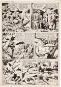 Original Comic Art:Panel Pages, Jack Kirby and Joe Simon Adventures of the Fly #1Transformation Page 4 Original Art (Archie, 1959)....