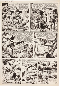 Jack Kirby and Joe Simon Adventures of the Fly #1 Transformation Page 4 Original Art (Archie, 1959)