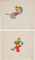 Animation Art:Production Cel, The Pogo Special Birthday Special Production Cel and DrawingAnimation Art Group (Chuck Jones Productions, 1969).... (Total: 4Items)