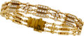 Estate Jewelry:Bracelets, Diamond, Gold Bracelet, Loree Rodkin. ...