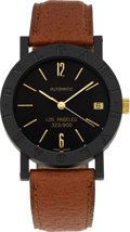 Estate Jewelry:Watches, Bvlgari Limited Edition Carbon Gold Wristwatch, Los Angeles323/900. ...