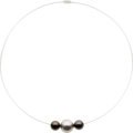 Estate Jewelry:Necklaces, South Sea Cultured Pearl, White Gold Necklace, French. ...