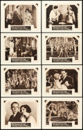 """Movie Posters:Drama, The Dance of Life (Paramount, 1929). International Lobby Card Setof 8 (11"""" X 14"""").. ... (Total: 8 Items)"""