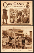 """Movie Posters:Comedy, Derby Day and Other Lot (Pathé, 1923). Lobby Cards (2) (11"""" X 14""""and 10.5"""" X 13.25"""").. ... (Total: 2 Items)"""